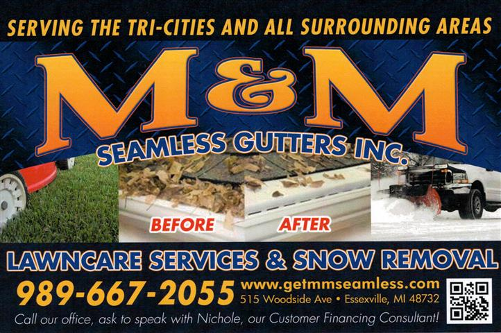 M&M Seamless Gutters Inc