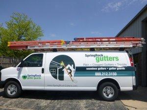 Springrock Gutters Van